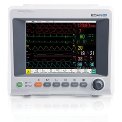 Edan iM50 - NELLCOR (ECG, NIBP, SPO2, TEMP, CO2, PRINTER) TOUCHSCREEN