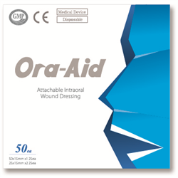Ora-Aid Intraoral Wound dressing